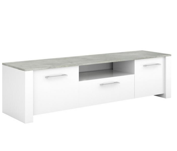 Floride woonkamer Serie - Betonlook - Salontafel en tv meubel