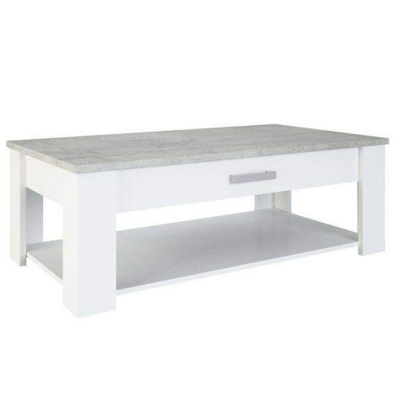 Floride woonkamer Serie - Betonlook - Salontafel en tv meubel (los of als set)