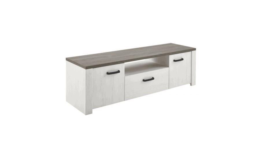 TV-meubel Marquis 147,7cm - wit hout - Andersen Pine