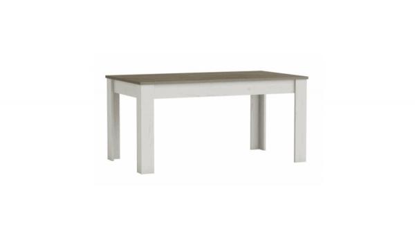 Verstelbare Eettafel Marquis 170 tot 230x90cm - Grijs/Bruin hout