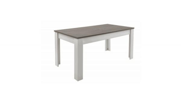 Eettafel Marquis 170x90cm - Grijs/Bruin
