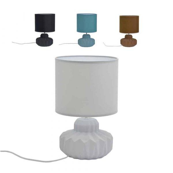 Tafellamp Kerie - Meerdere kleuren Stof