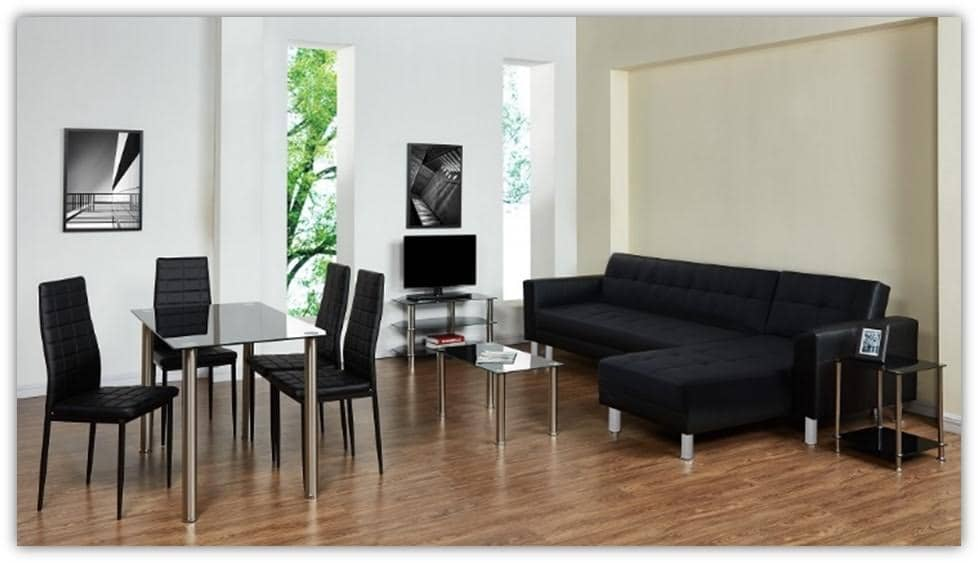 Woonkamer Set Meubels : Woonkamerset san diego u eettafel stoelen tv meubel