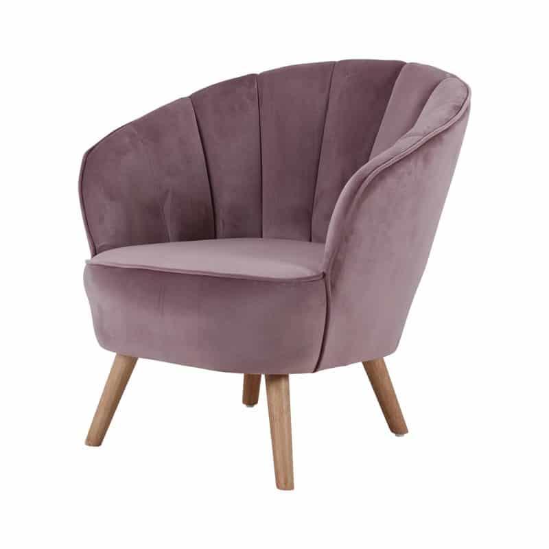 Wonderlijk Cocktail fauteuil Jasper- Oud Roze – Furndaily RS-81