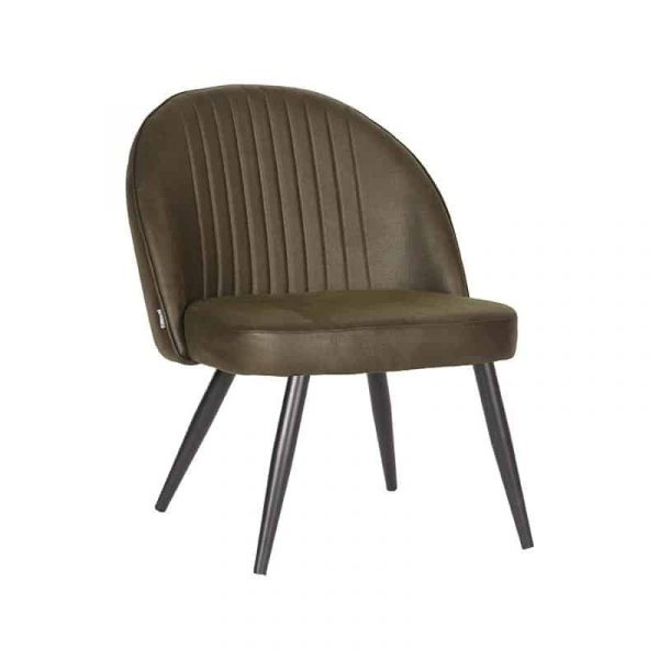 LABEL51 - Fauteuil Enzo Microvezel - Army