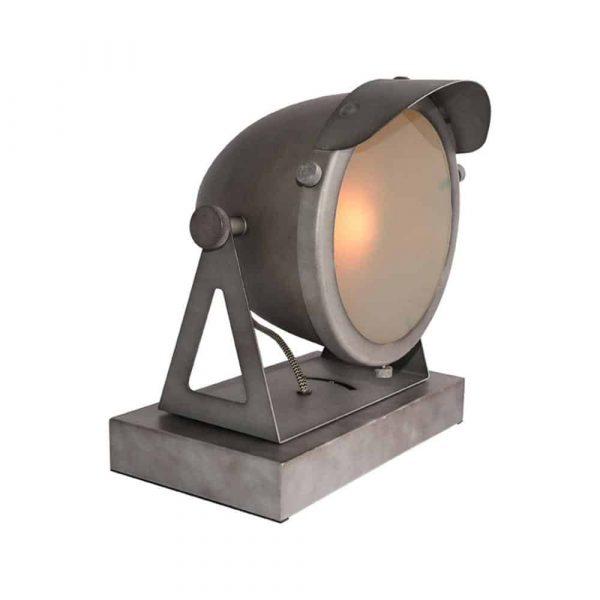 LABEL51 - Tafellamp Cap - Burned Steel