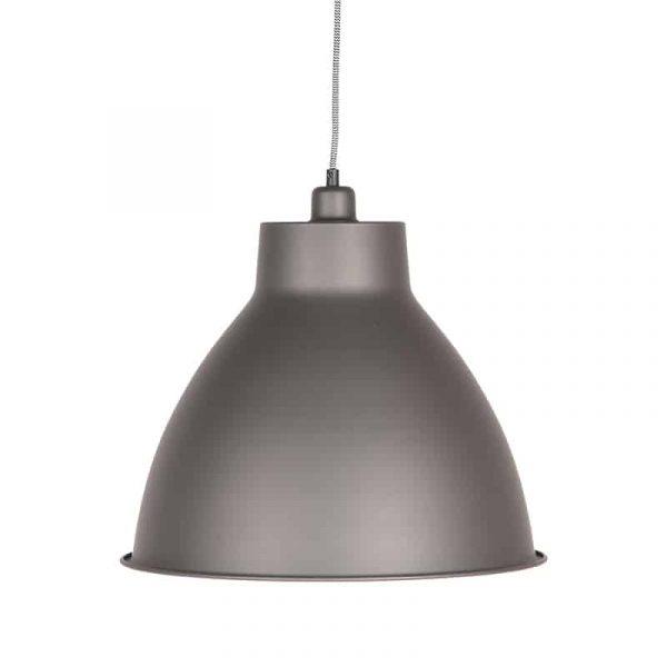LABEL51 - Hanglamp Dome - Burned Steel - 42 cm
