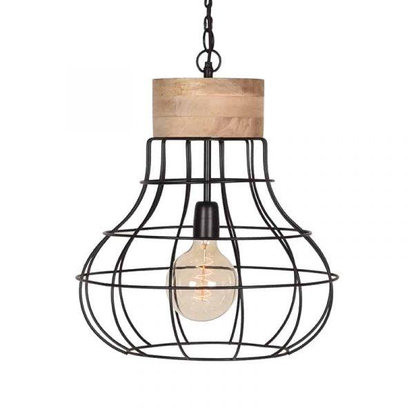 LABEL51 - Hanglamp Drop - Zwart - 44 cm
