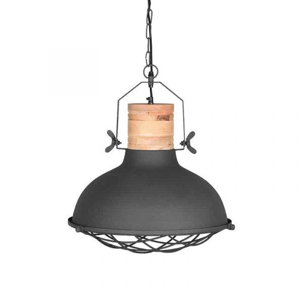 LABEL51 - Hanglamp Grid - Grijs - 34 cm