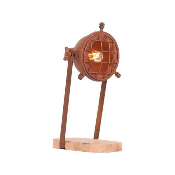 LABEL51 - Tafellamp Grid - Rust - Mangohout