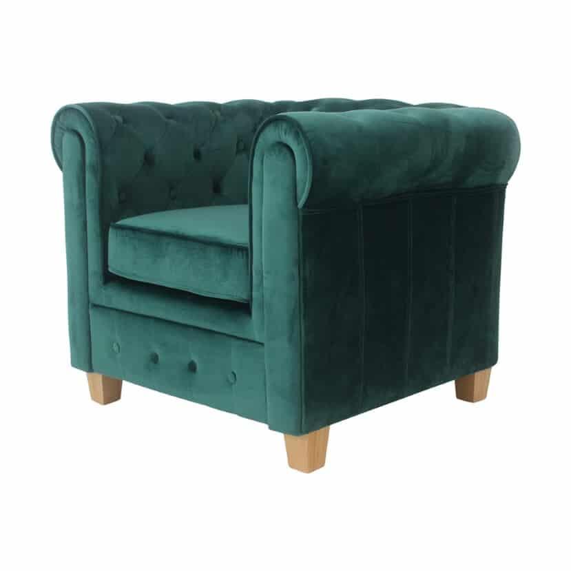 Malibu chesterfield fauteuil