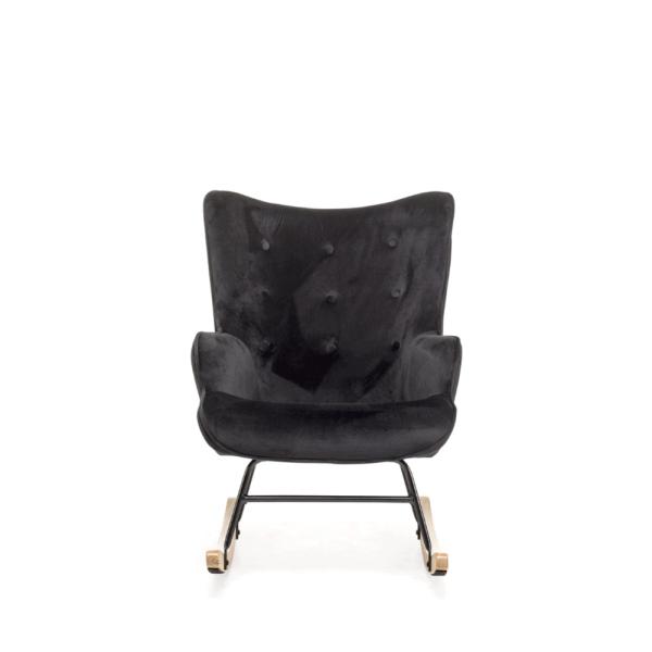schommelstoel steerne black velvet