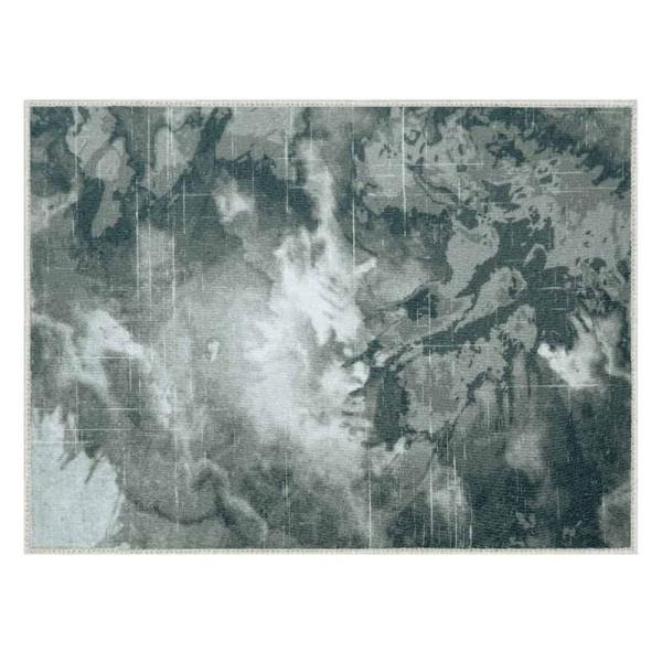 Laagpolig vloerkleed - Abstract gevlamd