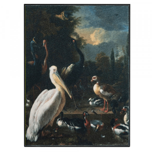 Schilderij de pelikaan dibond aluminium
