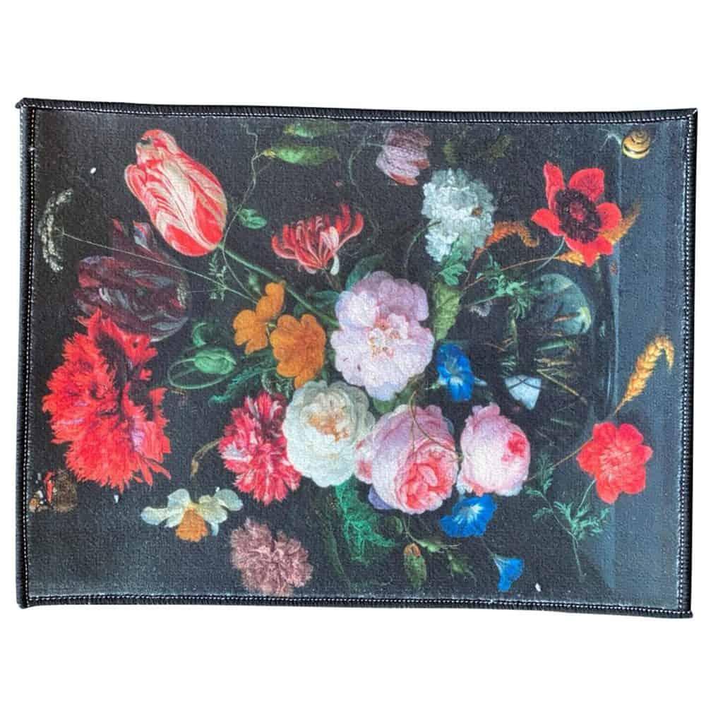 Karpet vloerkleed klassiek bloemen