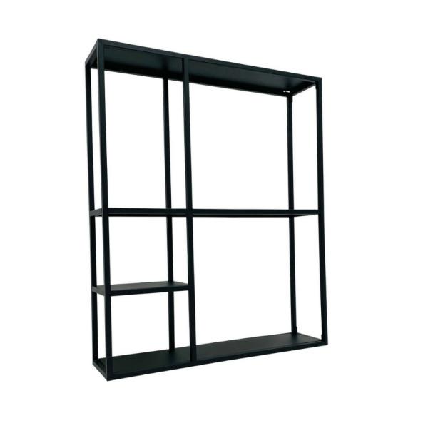 Wandrek 'Dani' 90 cm - zwart staal