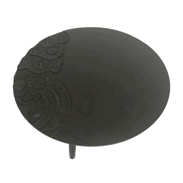 Salontafel - Zwart met handgravure