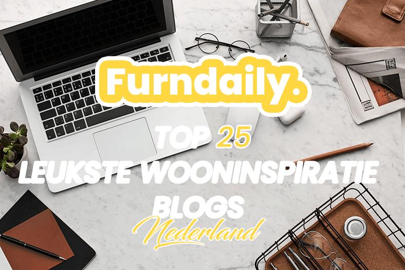 Top 25 leukste blogs voor wooninspiratie banner