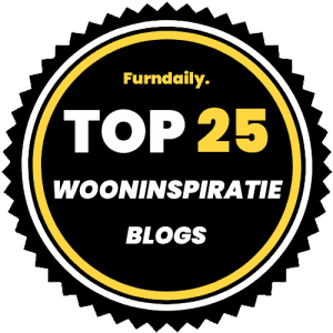 Top 25 wooninspiratie blogs badge