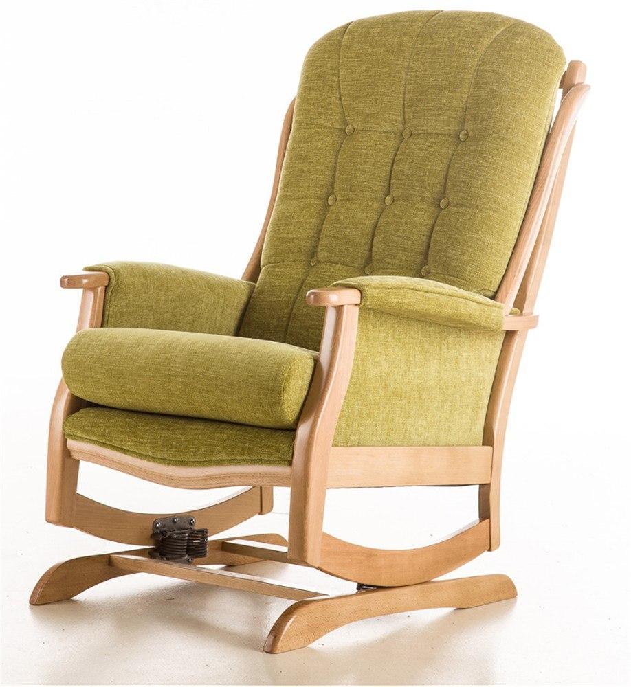 de verende schommelstoel