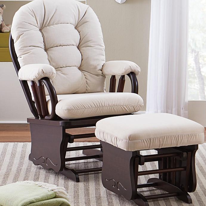 De glider schommelstoel