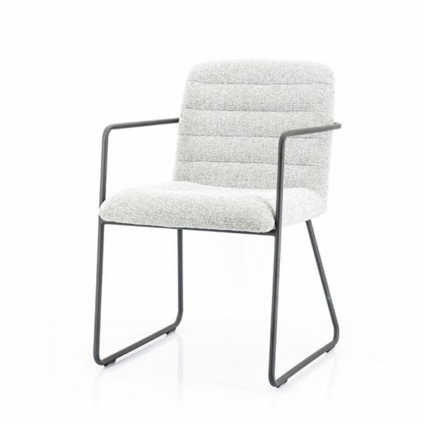 Moderne eetkamerstoel Artego – Licht grijs